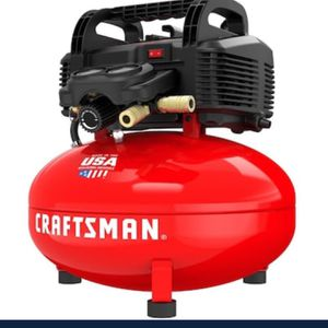 craftsman 6 Gallon Electric pancake compressor for Sale in Nellis Air Force Base, NV