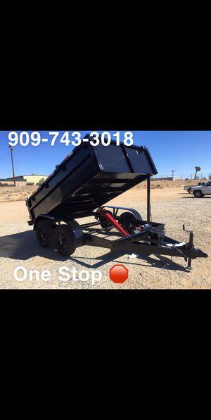8x10x2 Dump Trailer for Sale in Lancaster, CA