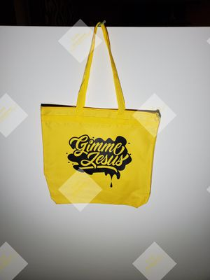 Gimme Jeusus tote bag for Sale in Greensboro, NC