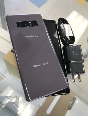 "Samsung Galaxy Note 8 64GB FACTORY UNLOCKED"" Like new with warranty for Sale in Silver Spring, MD"