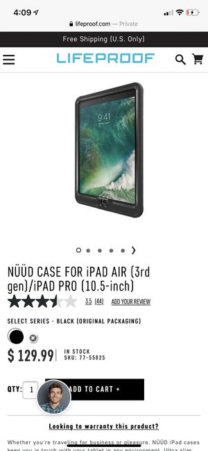 NÜÜD CASE FOR iPAD AIR (3rd gen)/iPAD PRO (10.5-inch) for Sale in Emmaus, PA