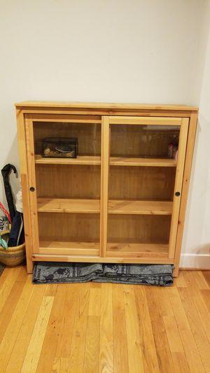 Bookshelf display case for Sale in Washington, DC