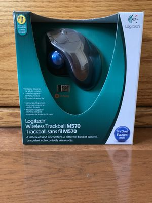 Logitech Wireless Trackball M570 Mouse for Sale in Orange, CA