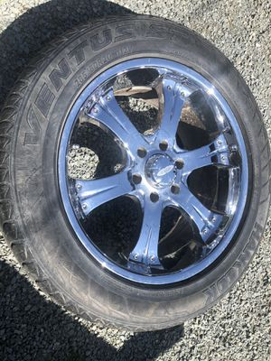 Wheels with rims size 285/50R20 for Sale in Sedro-Woolley, WA