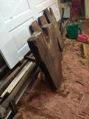 Walnut slabs 4 inch thick for Sale in Glade Hill, VA