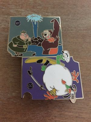 Disney American Adventure State Pin WY & CO for Sale in Sunnyvale, CA