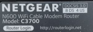 NETGEAR Wi-Fi Cable Modem Router for Sale in Manchester, CT