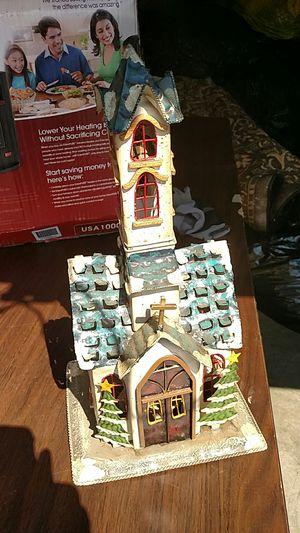 Light up Christmas church for Sale in Roanoke, VA