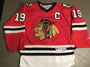Kids small/medium toews Chicago blackhawks Jersey Reebok for Sale in Oak Forest, IL