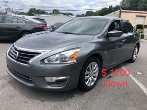 2015 Nissan Altima $ 1200 Down Payment for Sale in Nashville, TN