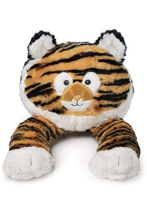 WINPAL Children's Neck Pillow for Travel in the car or Plane, Reading, Watching TV | tiger Design | Stuffed Animal and Plush Pillow for Kids | Soft a for Sale in Anaheim, CA