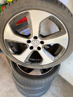 Mk7 wheels for Sale in Perris, CA