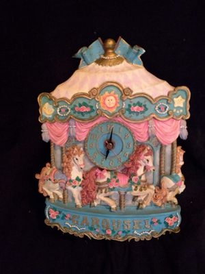 Carousel clock for Sale in Cleveland, OH