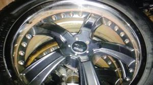 "4, 20"" Avarus by Savini 5 X 114.3 w/tires for Sale in Davie, FL"