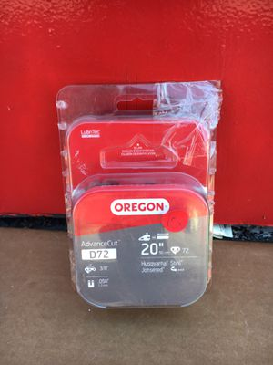 Oregon 20 in. Chainsaw Chain for Sale in Redlands, CA