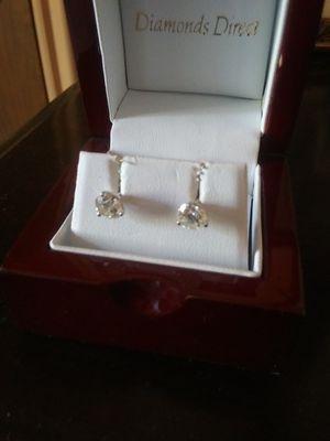 Womens Diamond ear rings for Sale in Brownsburg, IN
