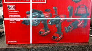 Craftsman 20v lithium ion 6-tool combo kit for Sale in Marysville, WA