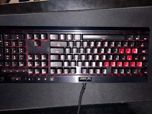 Corsair K70 RGB Cherry MX Red Switches