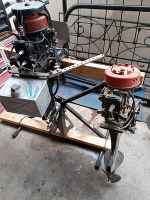Late 50s outboard racing engines to each same for Sale in Las Vegas, NV