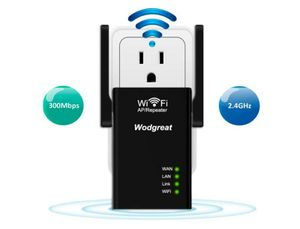 WiFi Range Extender 300 Mbps, Wireless Repeater Router Extender Easy Set-Up Internet Signal Booster, 2.4GHz Amplifier with High Gain Dual Antennas for Sale in Rancho Cucamonga, CA