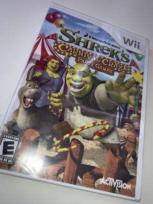 Shrek's Carnival Craze Party Games Wii for Sale in Dyer, IN