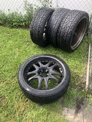 22 inch Tires/Rims (Set of 4) for Sale in Cocoa, FL