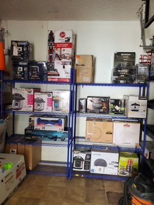 Household items: juicer, pressure cooker, rice cooker, nespresso, hover 1, instant pot, vaccums, robot vaccums for Sale in Pompano Beach, FL