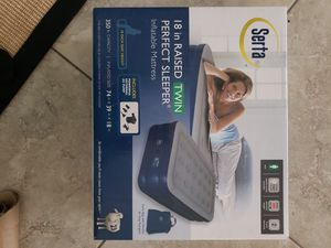 Serta Perfect Sleeper inflatable mattress for Sale in Hollywood, FL