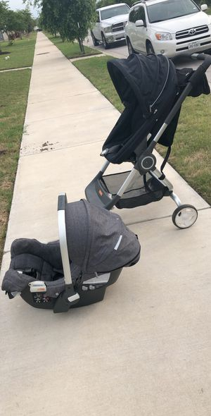 Stokke Scoot and Stokke by Pipa stroller and car seat for Sale in Pflugerville, TX