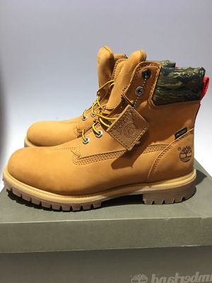 NEW LIMITED EDITION TIMBERLANDS BLACK SCALE PREMIUM X BOOTS SIZE 12 100% AUTHENTIC for Sale in Anaheim, CA