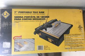 "QEP 7"" Portable tile saw 3/4 HP for Sale in Washington, DC"