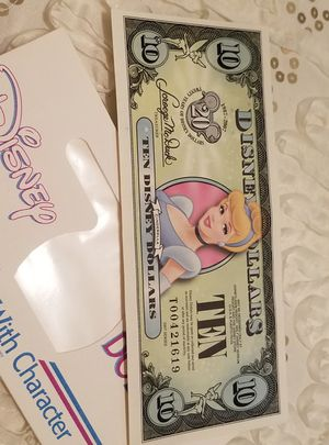 Cinderella Disneyland Princess $10 Great condition. $150 for Sale in Santa Ana, CA
