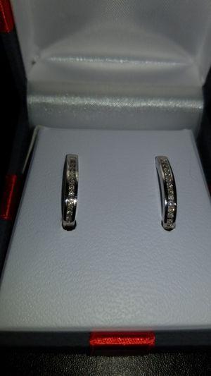 1/4 ct Real Diamond and .925 Earrings for Sale in Murfreesboro, TN