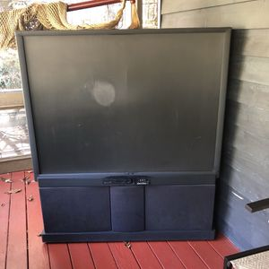 55 Inch Rear Projected Tv for Sale in Woodstock, GA