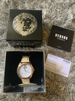 Women's Rose Gold Versace Watch for Sale in Downey, CA