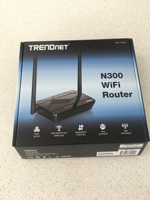 TRENDnet N300 WiFi Router for Sale in Chalfont, PA
