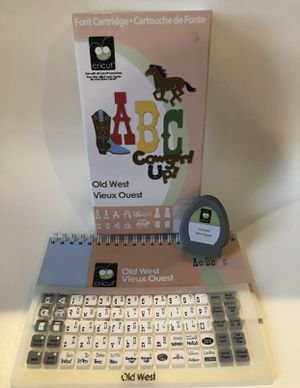 Old West Cricut Cartridge for Sale in Tampa, FL