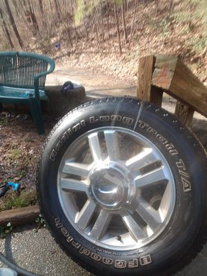 2008 (4) Ford F150 Rims Fair tire wear for Sale in Jacksonville, AL