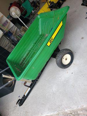 John deere lawn tractor trailer... for Sale in Heath, TX