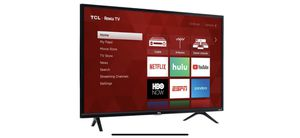 """TCL - 32"""" Class - LED - 3-Series - 720p - Smart - HDTV Roku TV for Sale in Vallejo, CA"""