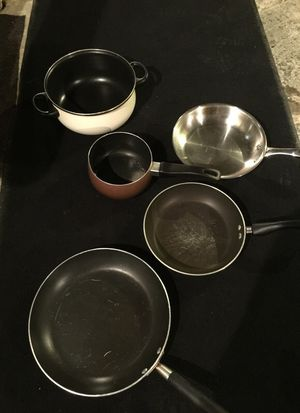 Pots and pans for Sale in Carnegie, PA
