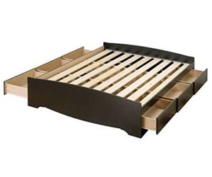 Queen bed frame with (6 drawers) for Sale in Phoenix, AZ