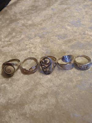 Rings silver 925 for Sale in Somerton, AZ