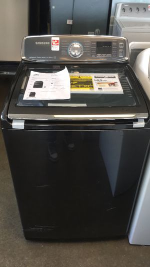 Brand New Samsung Top Load Washer. Top washer. Warranty, delivery. Se habla español for Sale in Alexandria, VA