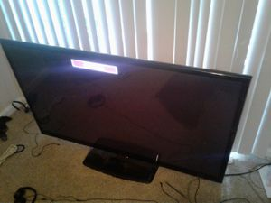 60 in. LG Plasma TV for Sale in Charlotte, NC