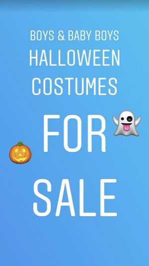 Size M 10-12 and infant halloween costumes. for Sale in Brooklyn, NY