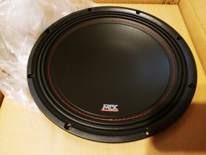 """New 10"""" MTX Audio 3510 Slim Design Bass Subwoofer for Sale in Schenectady, NY"""