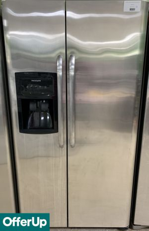 Frigidaire Refrigerator Fridge Side by Side Stainless Steel #765 for Sale in Orlando, FL