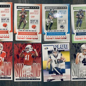 Panini Rookies And Stars 2020 Ticket Masters Standin Ovations for Sale in Vista, CA