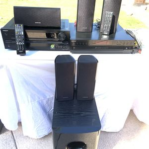 ~ONKYO Tuner & SONY 5 Disc CD Changer w/ Speakers & Subwoofer~ for Sale in Rolling Hills, CA